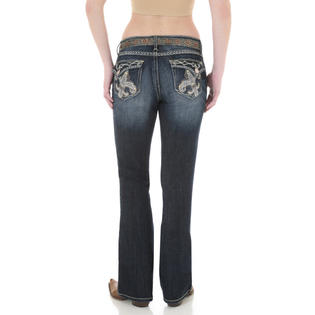 Wrangler Womens - Rock 47 - Boot Cut - Jean 32 Inseam at Sears.com