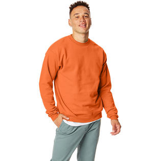 Hanes 7.8 oz. ComfortBlend EcoSmart 50/50 Fleece Crew SAFETY ORANGE L at Sears.com