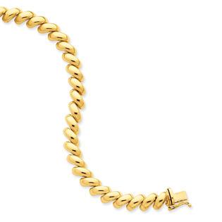 Qgold 14k San Marco Bracelet