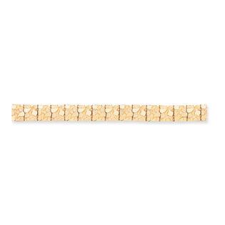 Core Gold 14k 12.50mm Nugget Bracelet