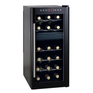 Spt Dual-Zone Thermo-Electric Wine Cooler with Heating 18-Bottles