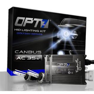 OPT7® Boltzen AC Error-Free Canbus HID Xenon Conversion Kit - 2 Year Warranty - H11 (H8, H9) (5000K, Intense White) ...