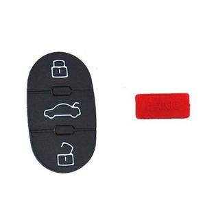 HQRP Key Button pad 3 Buttons + Panic Repair Folding Flip Key FOB