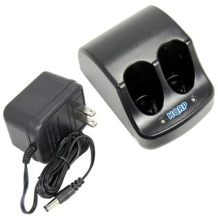 HQRP Dual Battery Charger for Black & Decker 3.6V Versapak VP100 VP110 22-4040 22-4035 VP130 VP100C VP105C VP110C 152370-03