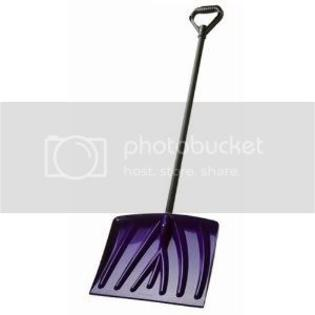 Suncast 18 in. Poly Snow Shovel w/Steel Core Handle at Sears.com