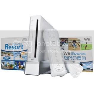 Nintendo Wii Console With 2 Games Bundle (White) at Sears.com