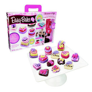 Easy Bake Microwave & Style Deluxe Delights Cake & Cookie Kit with 10 Mixes & 13 Tools Included at Sears.com