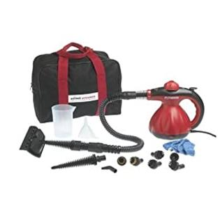 Scunci SS-1000 Hand Held Steam Cleaner with Free Carrying Case and Bonus Attachments at Sears.com