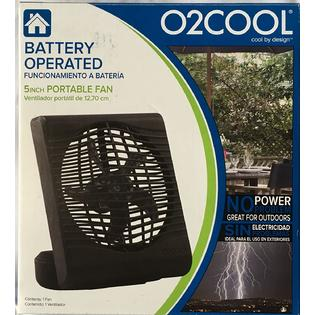 O2 Cool O2cool New Battery Operated Fan