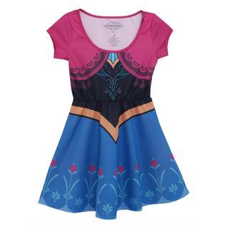 Disney Frozen Frozen I Am Anna Disney Movie Mighty Fine Girls Juniors Costume Skater Dress at Sears.com