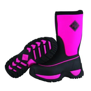 Honeywell Muck Boots Kids Rugged Outdoor Sport Boot (Black / Hot Pink) at Sears.com
