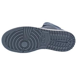 free shipping ab8c0 059d1 Michael Jordan 1 Flight 4 Prem BG Boys Perforated High-Top Basketball Shoes