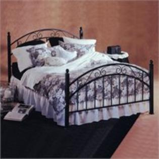 Hillsdale Willow Metal Poster Bed in Matte Black Finish - Full at Sears.com