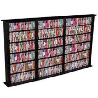 Venture Horizon Triple 50-Inch CD DVD Wall Rack Media Storage - White at Sears.com