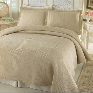 Pem America Best Quality French Tile King Bedspread Gold  By Pem America at Sears.com