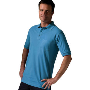 Edwards 1505 Men's Short Sleeve Left Chest Pocket Wrinkle Resistant Polo Shirt at Sears.com