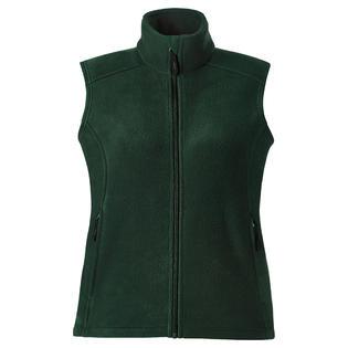 Core 365 78191 Women's Lower Pocket Fleece Vest Forest Gren-XL