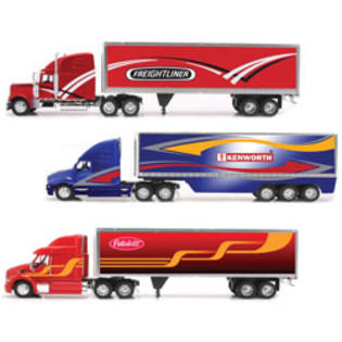 New-ray Toys 1:32 Scale Die Cast Long Hauler with New Graphics Truck Assortment - 2 Each of 3 at Sears.com