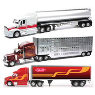 New-ray Toys 1:32 Scale Die Cast Peterbilt 387/379 Tanker/Container Truck Assortment-2 Each 3 at Sears.com