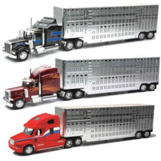 New-ray Toys 1:32 Scale Die Cast Pot Belly Livestock Truck Assortment 2 Each Of 3 at Sears.com