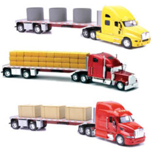 New-ray Toys 1:32 Scale Die Cast Flat Bed Truck Assortment 2 Each 3 at Sears.com