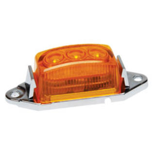 "RoadPro 1-3/4 ""X 1"" Led Clearance/Marker Light Amber, Single Pack at Sears.com"