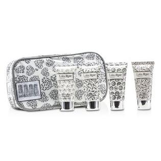 Lola Rose Skincare Energising Rock Crystal Travel Set: Shower Gel + Body Lotion + Hand & Nail Cream + Bubble Bath + Bag 4pcs+1bag at Sears.com