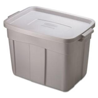 Rubbermaid Roughneck Storage Box, 18 gal, Steel Gray at Sears.com