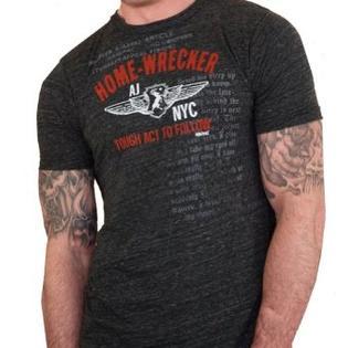 ajaxx63 Mens Home-Wrecker Graphic Athletic T-Shirt