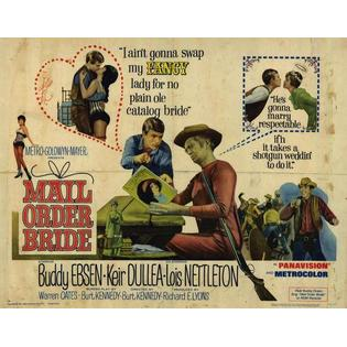 PCG Mail Order Bride Poster Movie 11 x 14 In - 28cm x 36cm Buddy Ebsen Keir Dullea Lois Nettleton Warren Oates Barbara Luna at Sears.com