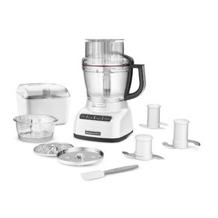 KitchenAid White 13 Cup Food Processor (KFP1333WH) at Sears.com