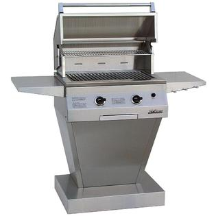 Solaire Gas Grills 27 Inch Basic All Infrared Propane Gas Grill On Angular Pedestal Base at Sears.com
