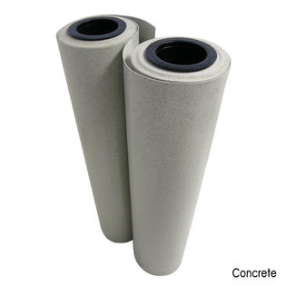 Rubber-Cal Terra-Flex Premium Rubber Flooring Rolls - 2MM x 4FT x 40FT Roll - Concrete at Sears.com