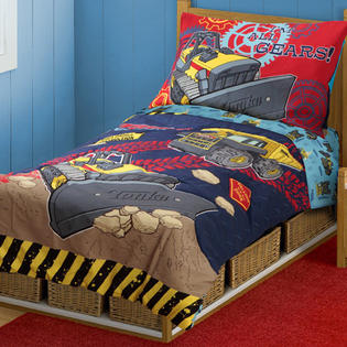 Tonka Truck All Gears 4pc Toddler Bedding Set at Sears.com
