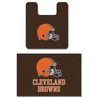 NFL Cleveland Browns Bath Mat Set Football Bathroom Rugs at Sears.com
