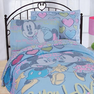 Disney Mickey Minnie Mouse Bedding Set Disney Vintage Bed at Sears.com