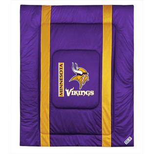 NFL NFL Minnesota Vikings Comforter Sidelines Football Bed