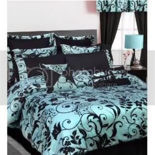 Tribeca Living Maxwell 12 Piece Comforter Set  Bed in a Bag Bedding Queen Size at Sears.com