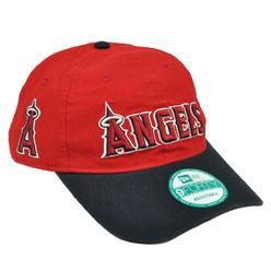 New Era MLB New Era 9Forty 940 Team Canvas Clip Buckle Los Angeles Angels Hat  Cap 131fe641270e