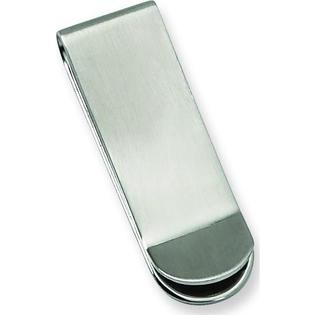 Findingking Stainless Steel Mens Brushed Money Clip Engravable at Sears.com