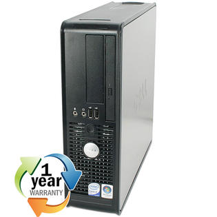 Dell REFURBISHED Dell Optiplex GX755 Core 2 Duo 2.3GHz 4GB 400GB DVD Win 7 Pro Desktop Computer at Sears.com