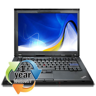 Lenovo REFURBISHED IBM ThinkPad T400 2.4Ghz 2GB 160GB CDRW/DVD Win 7 Home Premium Laptop at Sears.com