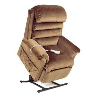 "Pride Mobility Elegance Collection Medium 3-Position Lift Chair with Pillow Back - Quick Ship - Fabric: Moss, Seat Width: Standard - 20"" at Sears.com"