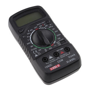 BrainyDeal AC DC Digital Multimeter Ohm VOLT Meter With LCD Back Light Display at Sears.com