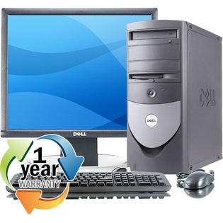 Dell REFURBISHED Dell Optiplex GX280MT P4 2.8GHz 1024MB 80GB CD XP Pro Desktop Computer at Sears.com