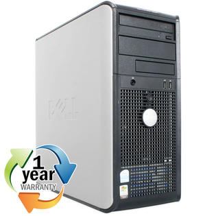 Dell REFURBISHED Dell Optiplex GX620MT 2.8PD 2GB 400GB DVD-Rom Win XP Pro Desktop Computer at Sears.com
