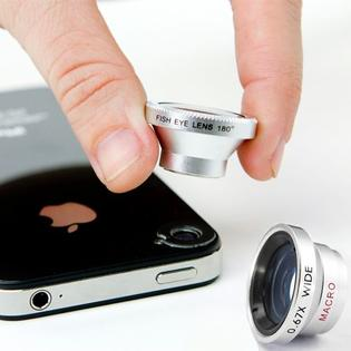 AmeriMax Macro Lens Wide Lens and 180 Fish Eye Lens 3 in 1 for Samsung HTC Cell Phones at Sears.com
