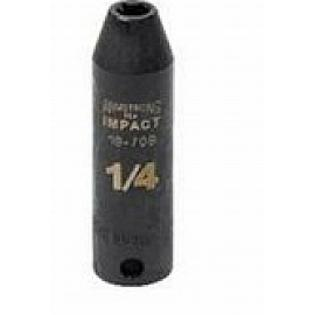 "Armstrong Tools Armstrong 19-708 6 Point 3/8 Inch Drive Deep Impact Socket, 1/4"" at Sears.com"