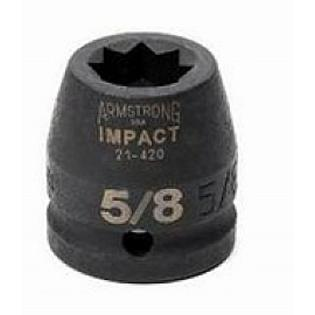 "Armstrong Tools Armstrong 21-434 8 Point 3/4 Inch Drive Impact Socket, 1-1/16"" at Sears.com"