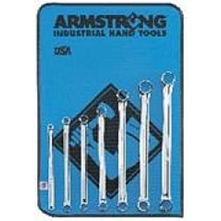 Armstrong Tools Armstrong 53-843 7 Pc 12 Point Metric Full Polish 15 Deg Offset Box Wrench Set at Sears.com